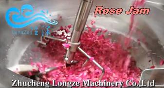 如何用搅拌机制作玫瑰花酱