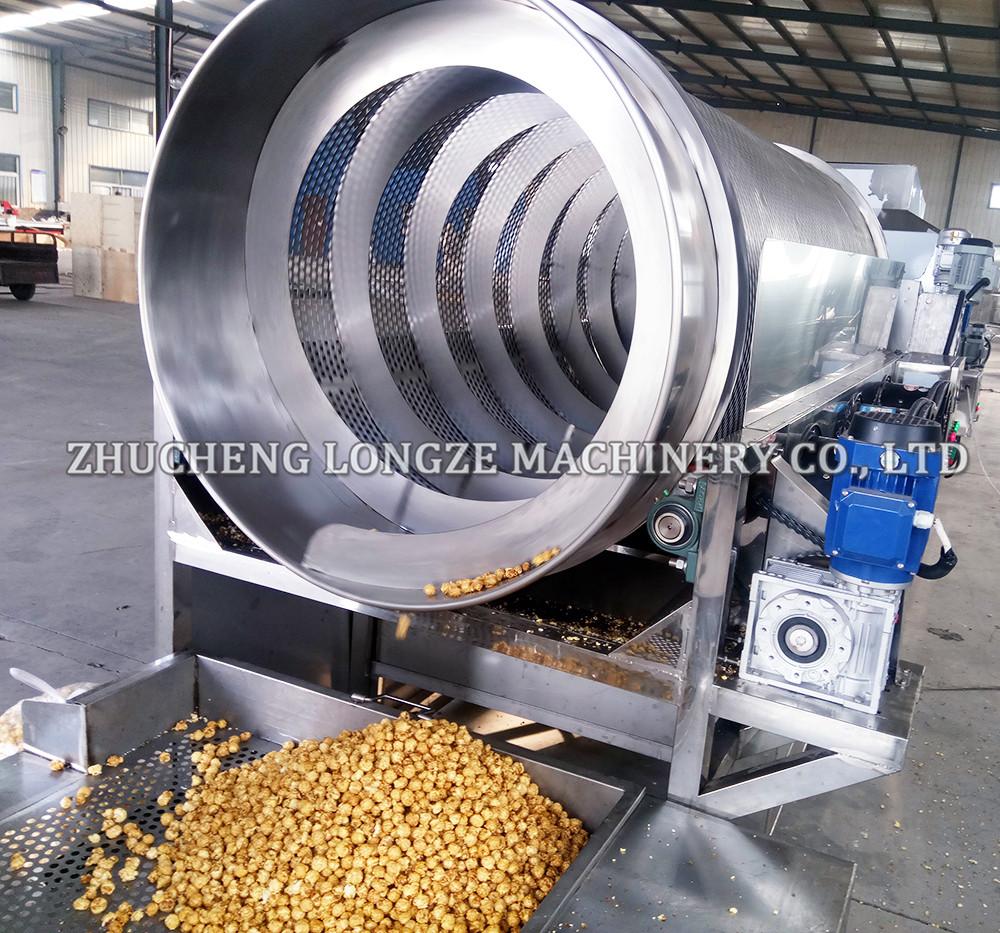 爆米花流水线生产较传统加工优势