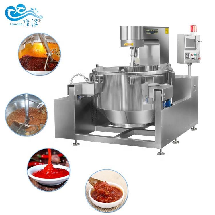 Full Automatic Chili Sauce Making Machine