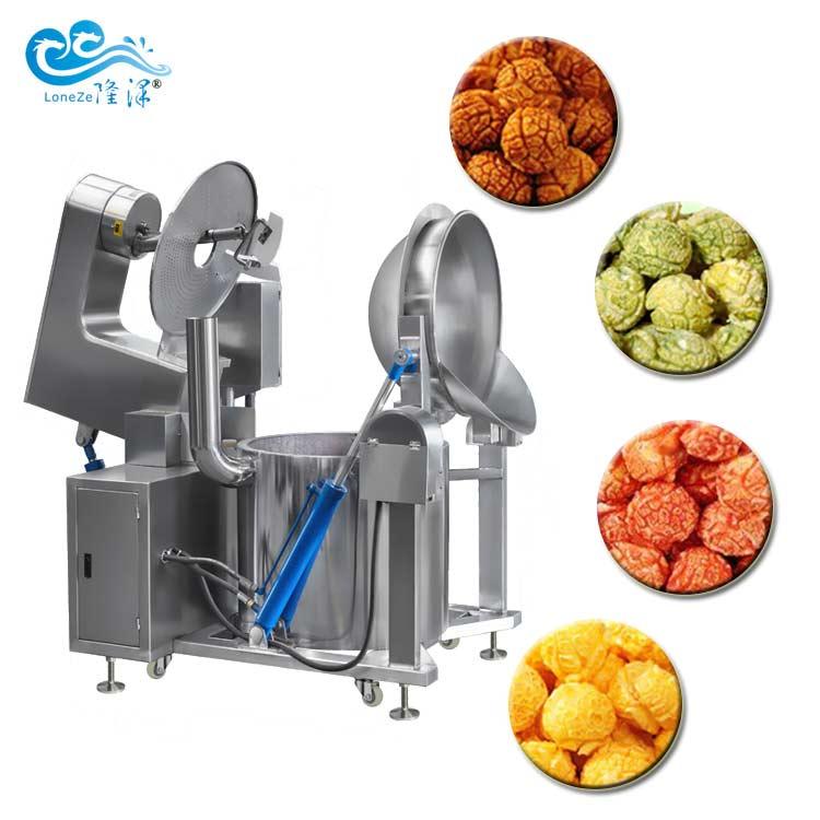 Automatic Commercial Popcorn Machine