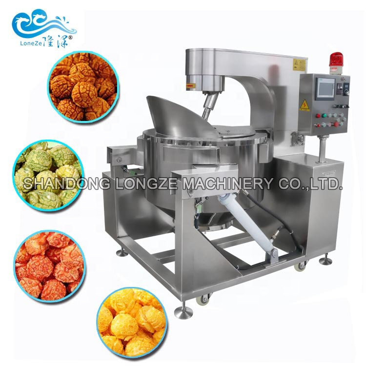 Big Capacity Industrial Automatic Popcorn Machine