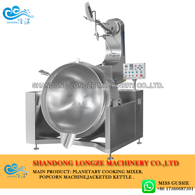 Chili Sauce Cooking Jacketed Kettle