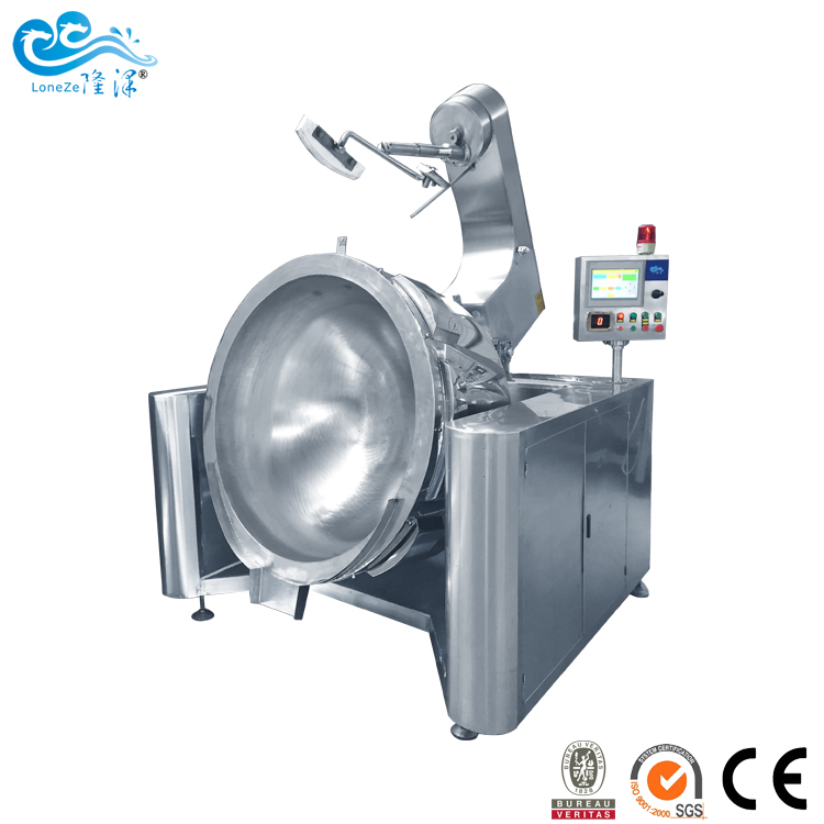 Electric Heating Cooking Mixer/Cooking Kettle For Chili Sauc